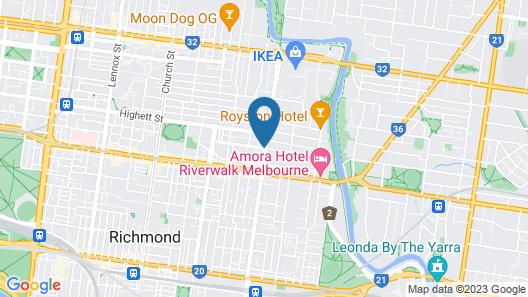BOUTIQUE STAYS - Victorian Vogue Map
