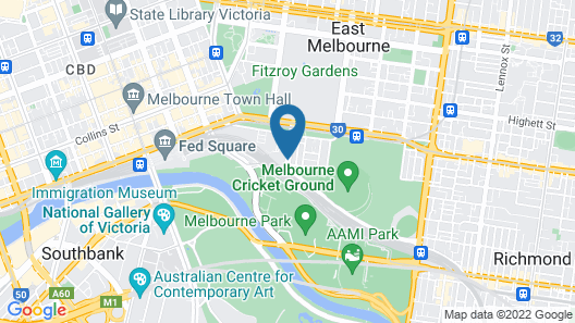 Mantra on Jolimont Map