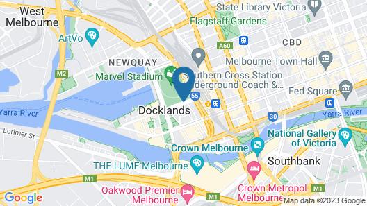 Quest Docklands Map