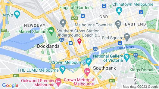 Winston Apartments Map