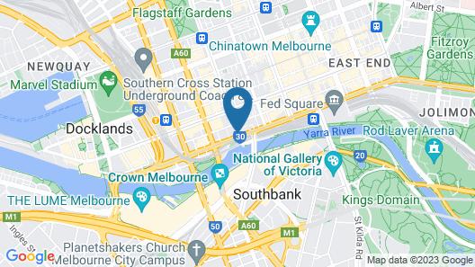 Clarion Suites Gateway Map