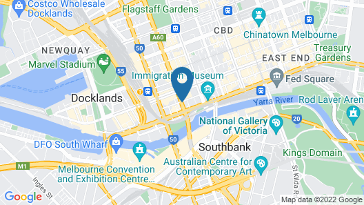 Quincy Hotel Melbourne Map