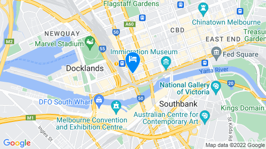 Great Southern Hotel Melbourne Map