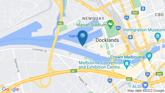 Pars Apartments Collins Wharf Docklands Map