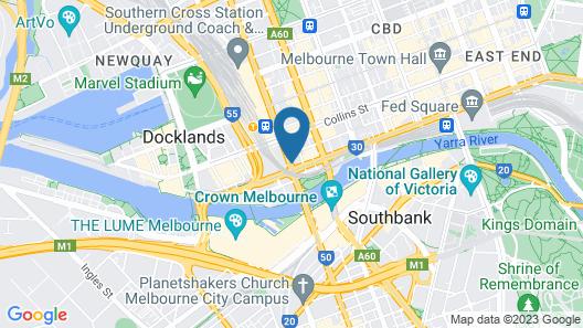 Best Western Melbourne City Map