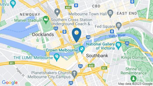 Melbourne River Views Map