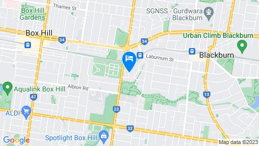 Hillside House Map
