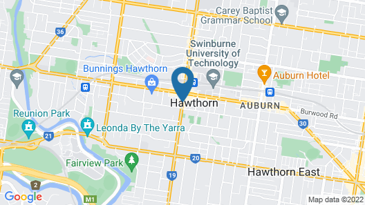 Quest Hawthorn Map