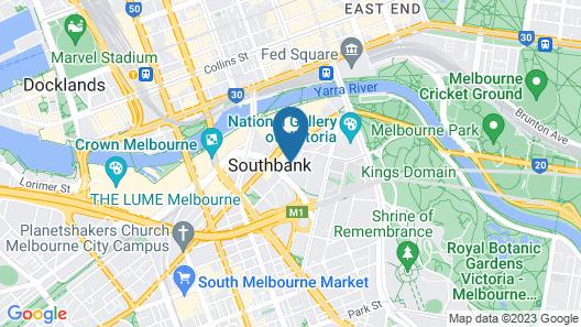 ReadySet Apartments on Kavanagh Map