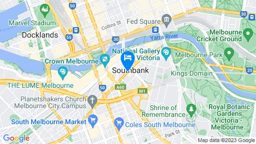 City Tempo - SouthbankOne Map