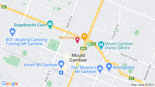 Avalon Motel Map