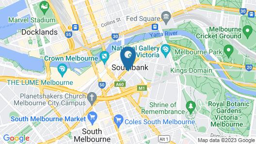 Nook Melbourne 173 City Road Map