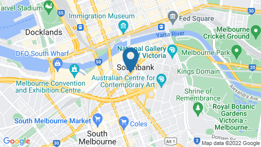 Inner Melbourne Serviced Apartments Map