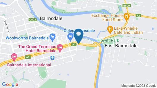 Mitchell River Tavern Map
