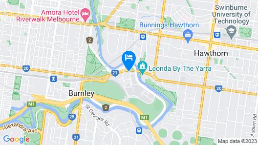 Element Melbourne Richmond Map