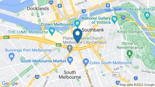 HFN Crown Shadow Play Apartment Map