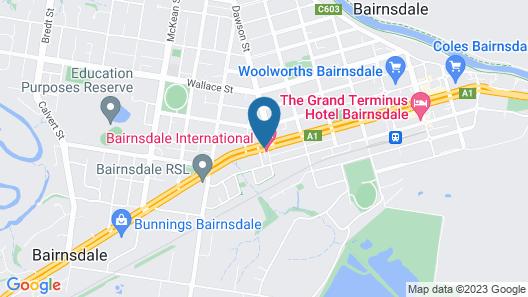 Bairnsdale International Map
