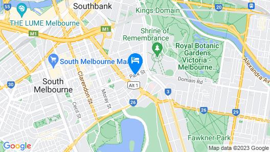 Quest South Melbourne Map
