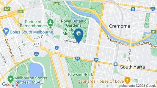 United Places Botanic Gardens Map