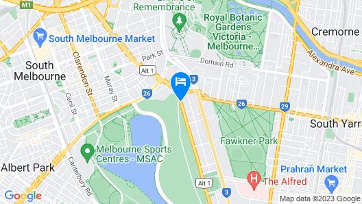 Bayview Eden Melbourne Map