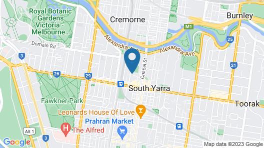 Urban Rest - Claremont Map