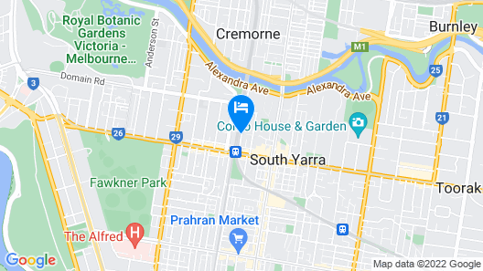 Punthill South Yarra Grand Map