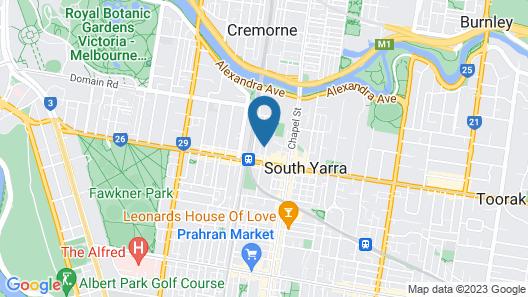 Pride Manor South Yarra Map