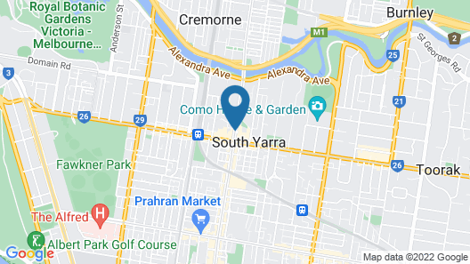 The Como Melbourne Mgallery Map