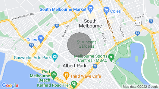 Cosy Apartment on Vincent Gardens near Restaurants Map