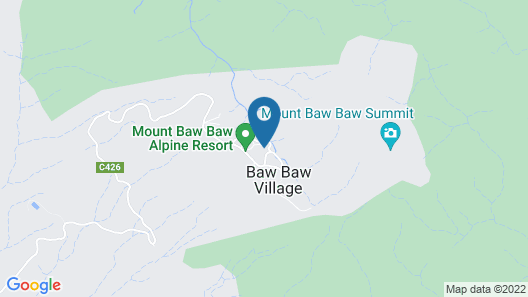 Tanjil Creek lodge Map