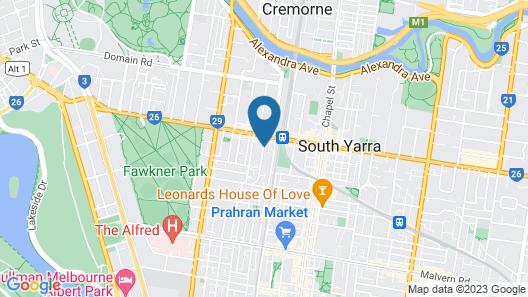 Davis Avenue Apartments Map