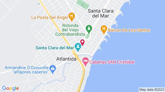 La Nueva Romana Hotel Map