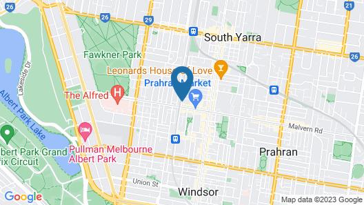 Quest Prahran Map