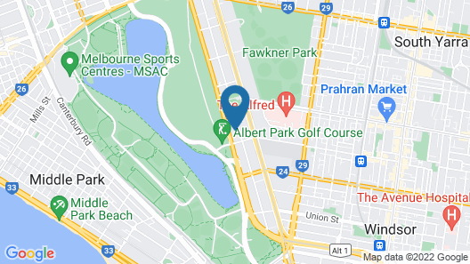 Bayview On The Park Map