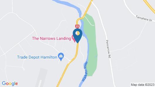 The Narrows Landing Map
