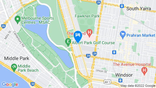 Seasons Heritage Melbourne Map