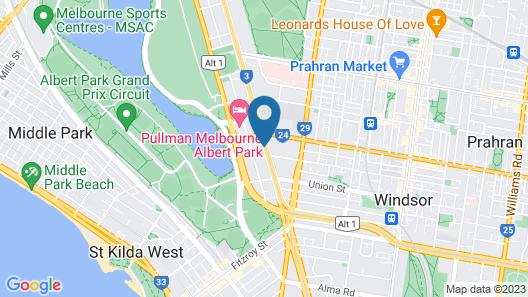 Park Regis Griffin Suites Map