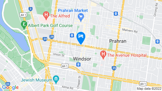 Hiigh Apartments Map