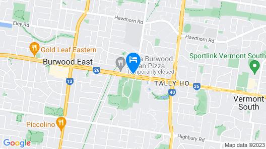 Quest Burwood East Map