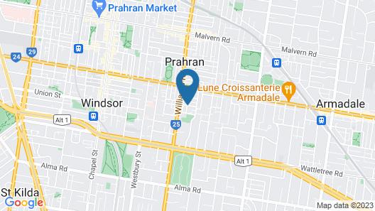 Boutique Stays - Contempo Map