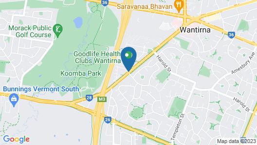 Knox International Hotel & Apartments Map