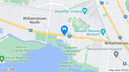 Quest Williamstown North Map