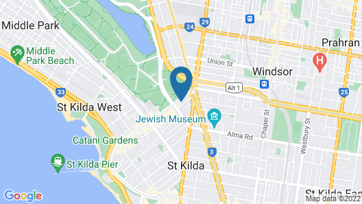 Heart of St Kilda by Ready Set Host Map