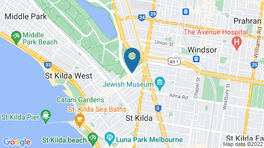 Ritz For Backpackers Map