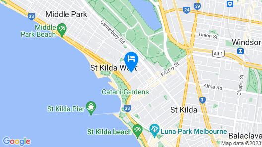 Crest on Park Map