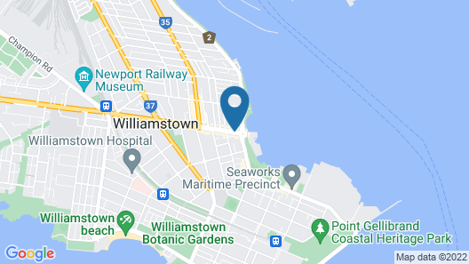Punthill Williamstown Map