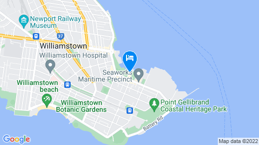 Quest Williamstown Map
