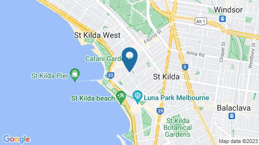 Quest St Kilda Bayside Map