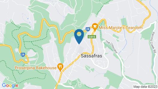 Moulton Park Cottages Map