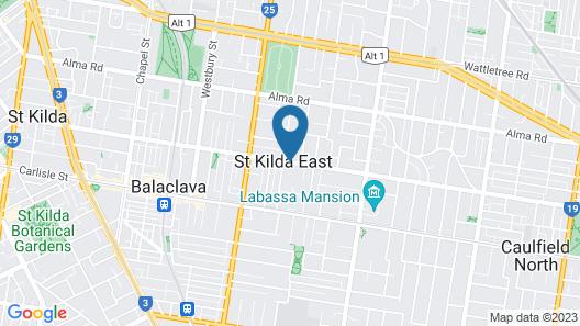 Kimberley Gardens Hotel & Serviced Apartments Map
